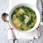 Scalloped Potato-Kale Soup