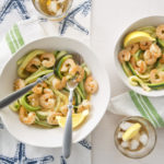 30-Minute Meal: Zucchini Noodles with Creamy Garlic Shrimp